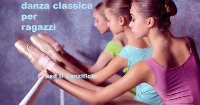 corsi di danza classica per ragazzi a Torino - asd Il Danzificio