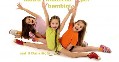corsi di danza moderna per bambini a Torino - asd Il Danzificio