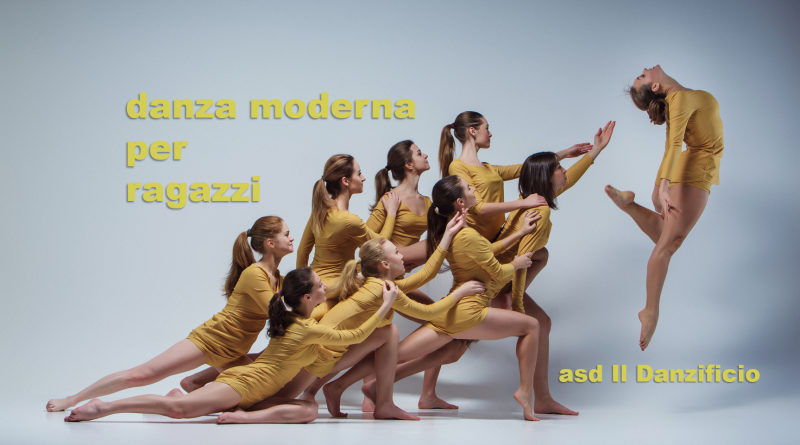 Danza moderna per ragazzi